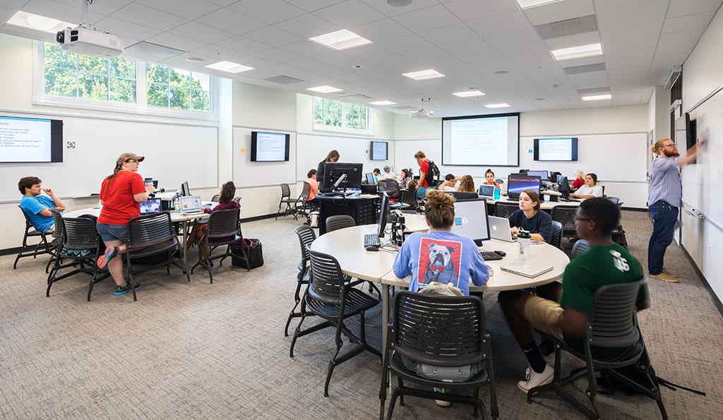An Observation of a University Classroom